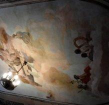 Stary Gostków- malowidła sufitowe