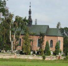 Szadek-kościół św.Idziego z lat 1858-1860