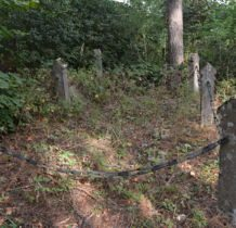 Szadek-kwatera żołnierzy niemieckich poległych w 1914 roku