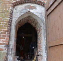 Szadek-wejście do dzwonnicy