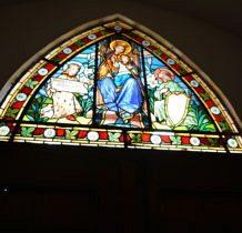 Szadek- kościelne witraże późnogotyckie