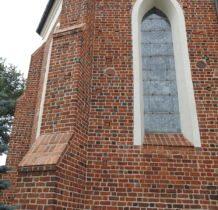 Szadek- gotycka dzwonnica z armatnimi kulami