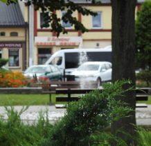 Szadek- rynek, niegdyś miasto królewskie Korony Królestwa Polskiego