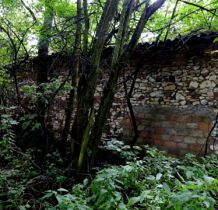 Tobolice- ruiny zabudowań gospodarczych
