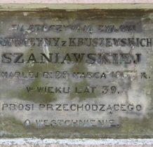 Wierzchy- tabliczka nagrobna