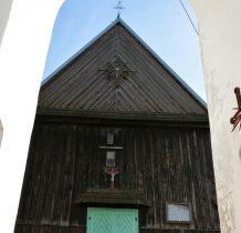 Chomentów- kościół niestety zamknięty