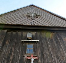 Chomentów- kościół ufundowany przez właścicieli wsi