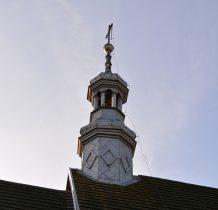 Chomentów- wieża kościoła