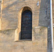 Imielno- okno z witrażem