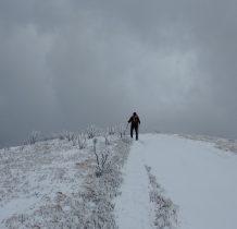 ostatnie wzniesienie przed szczytem
