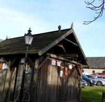 Sobków- budynek dla ptaków w fortalicji