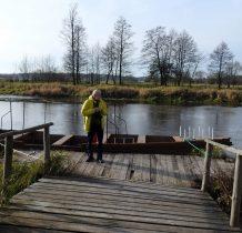 Sobków- od strony wschodniej rzeka zapewniała fortalicji ochronę