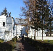 Sobków- kościół z XVI w, wcześniej zbór ariański