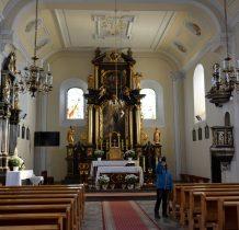 Sobków- wnętrze kościoła