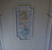 Sobków - malowidła sufitowe