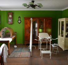 Tokarnia-w środku ekspozycja domu lekarza