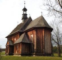 Tokarnia-kościół z Rogowa z 1763 roku