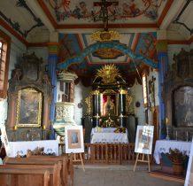Tokarnia-wnętrze kościoła