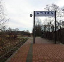Wygoda- peron Ciuchci Expres Ponidzie