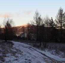 idziemy w kierunku parkingu na Pzełęczy Wyżniańskiej