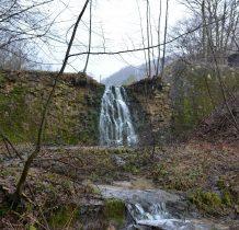 dawniej był tu naturalny wodospad