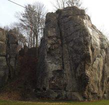 popularna skała wspinaczkowa