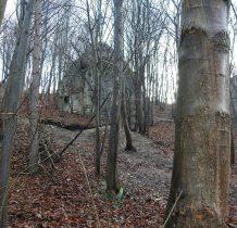 gdzieś tam ukryte za drzewami