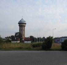 Wołów-do miasteczka docieramy o 8.00-wieża ciśnień z 1912 roku