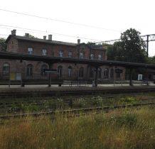 Wołów-budynek dworca z 1876r