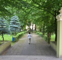 Wołów-wejście do dawnego pałacu hr. Braschmanna