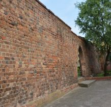Wołów-fragmenty murów obronnych