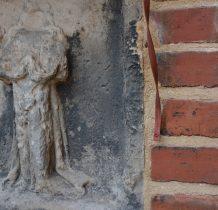 Wołów-na ścianie kościoła