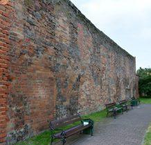 Wołów-fragmenty murów obronnych przy zamku