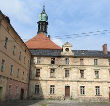Wołów-po kasacie zakonu w 1810r klasztor przebudowano