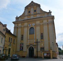 Wołów-Kościół i klasztor powstały w latach 1712-24