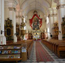 Wołów-wnętrze kościoła