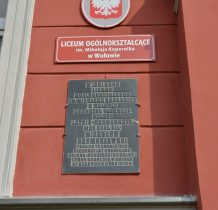 Wołów-w tym liceum uczył się Mirosław Hermaszewski