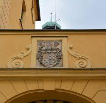 Wołów-na murze kościoła