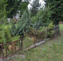 Stary Wołów-pozostałóści cmentarza przy cerkwi