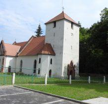 Zaborów-kościół z XIV-XV wieku