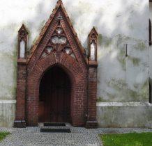 Zaborów-kościół przebudowano w latach 1869-1870