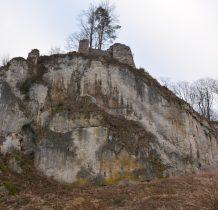 nad nami ruiny zamku rycerskiego