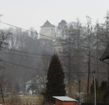 ruiny góruja nad okolica