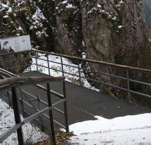 platformę widzieliśmy z dołu