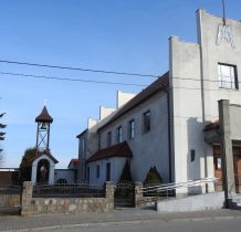 Łażek-kościół