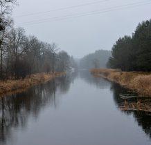 Barłogi-kanał z mostku
