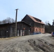Zgorzały Most-młyn i tartak z przełomu XIX i XX wieku