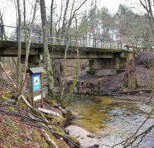 Zielona Łaka-most ma już swoje lata