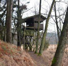 Gołabek-wieża widokowa na ścieżce przyrodniczej