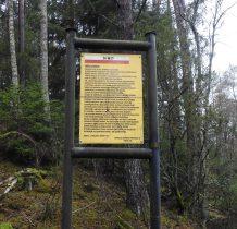 Biała-Wierzchownik-to tujaj był zamaskowany bunkier oddziału Armii Krajowej